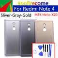 Note4 Bateria Back Cover Para Xiaomi Redmi Nota 4 Voltar Porta Da Bateria Caso Tampa da caixa Traseira Shell Chassis substituição