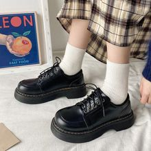 Japonês escola uniforme sapatos jk estudante meninas mulheres kawaii lolita macio menina dedo do pé redondo lolita plataforma mary jane sapatos