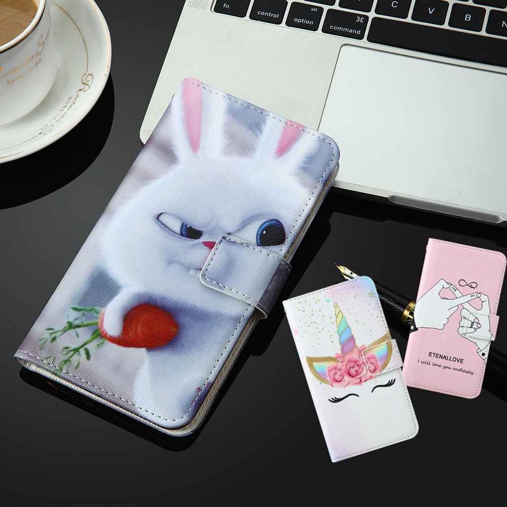 For TP-Link Neffos C9s C9 Max UMIDIGI X Ulefone Note 7P Armor X3 Vivo APEX 2019 V17 Neo Y90 Flip Wallet Leather Phone Case Cover