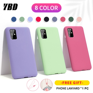YBD Super Smooth Phone Case For Huawei P10 P20 P30 P40 PRO Lite Official Soft Back Cover for Mate 10 20 30 pro Case