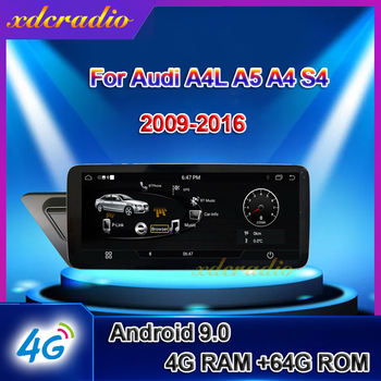 Xdcradio 10.25 Android 9.0 For Audi A4 A4L B9 A5 S4 Car Radio Car Multimedia Player Auto GPS Navigation 4G Stereo BT 2017-2019 image