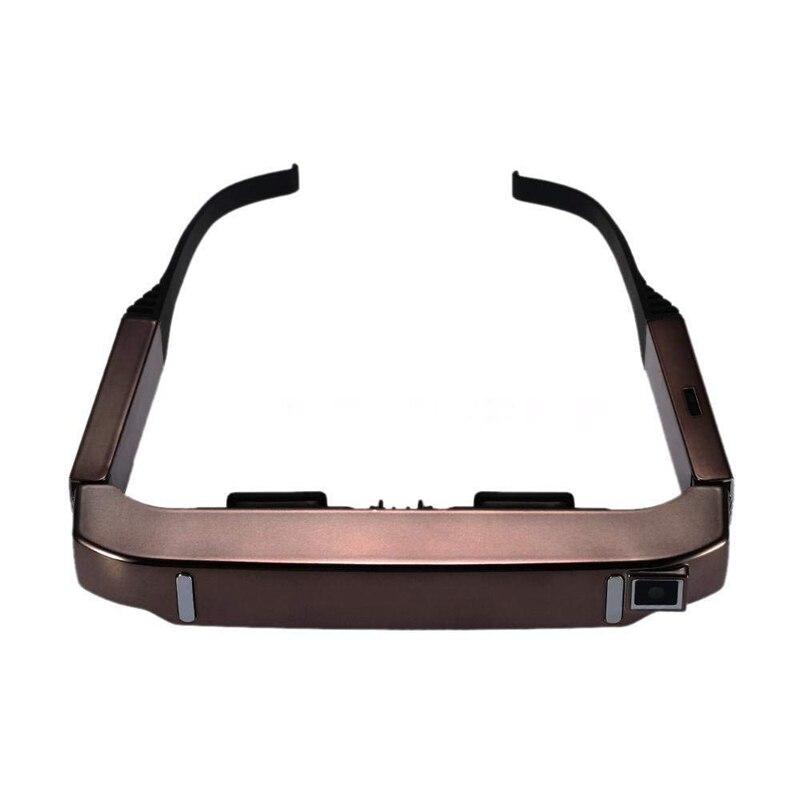 VISION 800 Astuto di Android WiFi Occhiali 80 pollici Wide Screen Video Portatile 3D Occhiali Teatro Privato con la Macchina Fotografica Bluetooth medi - 2