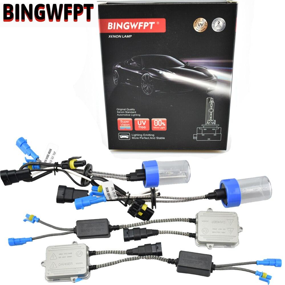 Xenon H7 H1 9005 HB3 9006 HB4 9012 H3 H8 H9 H11 881 880 55W Car Light HID Xenon Kit AC Ballast Bulb