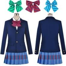 Anime Lovelive Love Live Cosplay Costume Kousaka Honoka Minami Kotori Ayase Eli Tojo Nozomi Nishikino Maki School Uniform