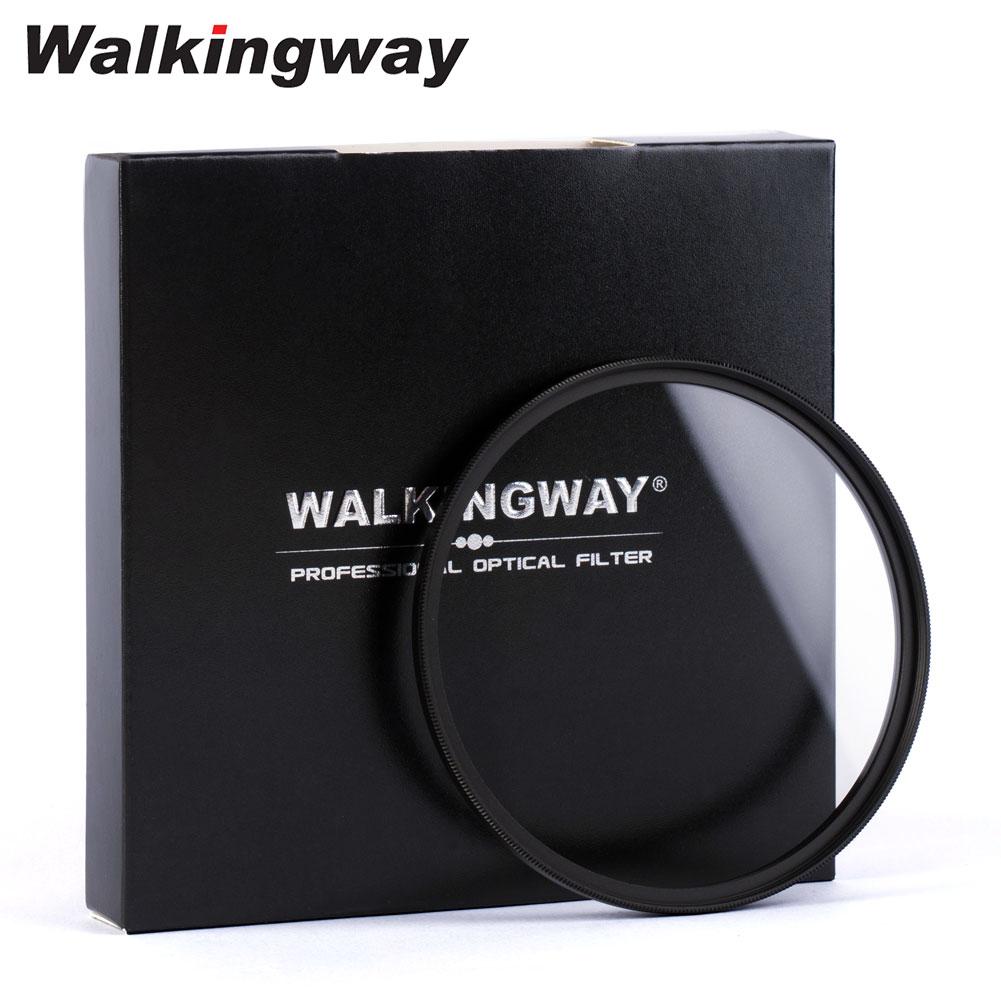 Walkingway UV Filter 52mm 77mm Camera Filter Ultra-Violet Protector Lens Filter 49 55 58 62 67 72 82 Filter for Canon Sony Nikon