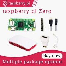 Raspberry Pi Zero DEV Kit 1GHz single core CPU 512MB di RAM Fascio includa la Cassa MINI HDMI uUSB cavo