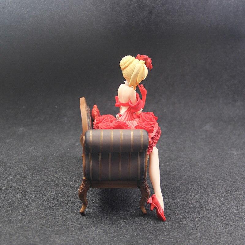 Hc88a5584c2ae4676b58bdfb5d86abcc0r Action Figure 20cm anime Fate Stay Night Extra vermelho sabre nero claudius césar augustus germânico anime figuras de ação pvc brinquedos