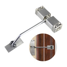 цена на 160x98x21mm New Stainless Steel Durable Automatic Mounted Spring Door Closer Adjustable Surface Door Closer for Residential