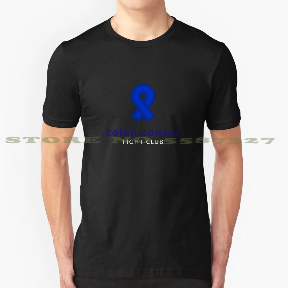 Colon Cancer Fight Club Cool Design T Shirt For Men Women T Shirts Aliexpress