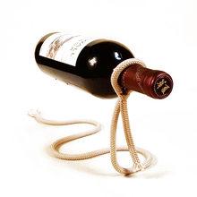 Magical Suspension Rope Creative Wine Rack Crafts Snake-shaped Bracket Simple Home Decoration Ornaments Wine-bottle Holder