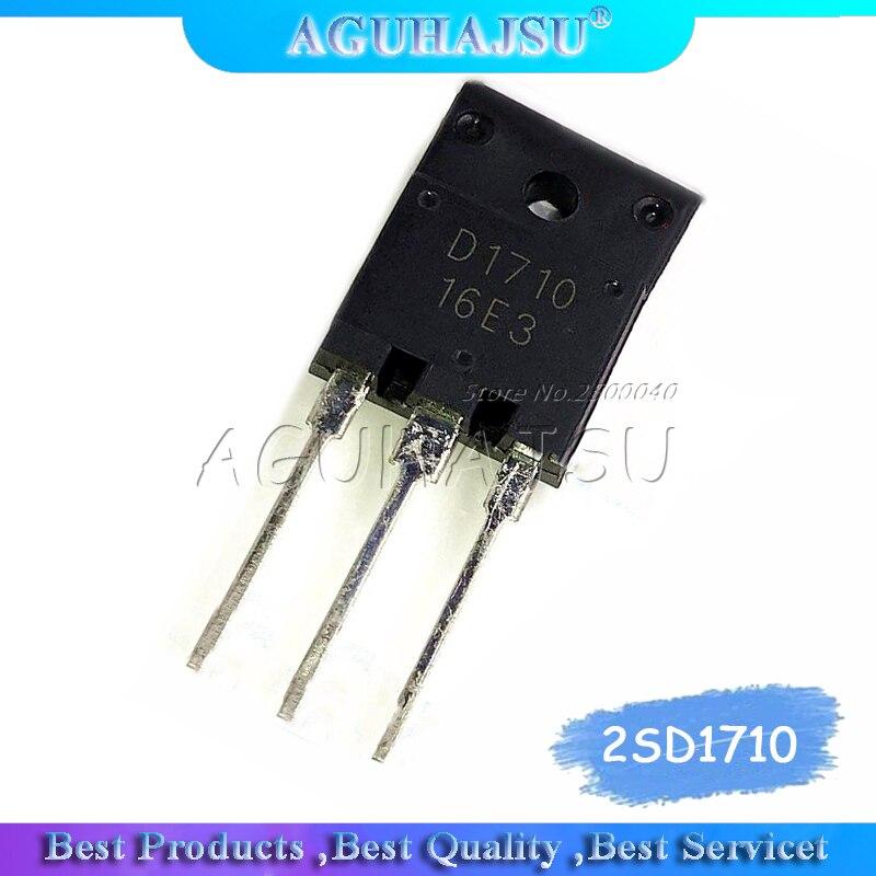 Original 5 pcs//lot D1710 Power Supply Tube Color TV Power Switch Tube 2SD 1710 Power Supply Adjustment Tube IC C1