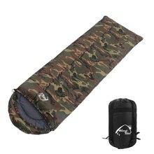 Теплый спальный мешок для взрослых, осенне-зимний конверт с капюшоном, для путешествий, кемпинга, водонепроницаемые толстые спальные мешки 1,3 кг