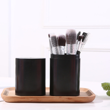 Cylinder Box Set Make up Brushes with Travel Case Eyebrow Mail Eyeshadow Complete 12PCS Makeup