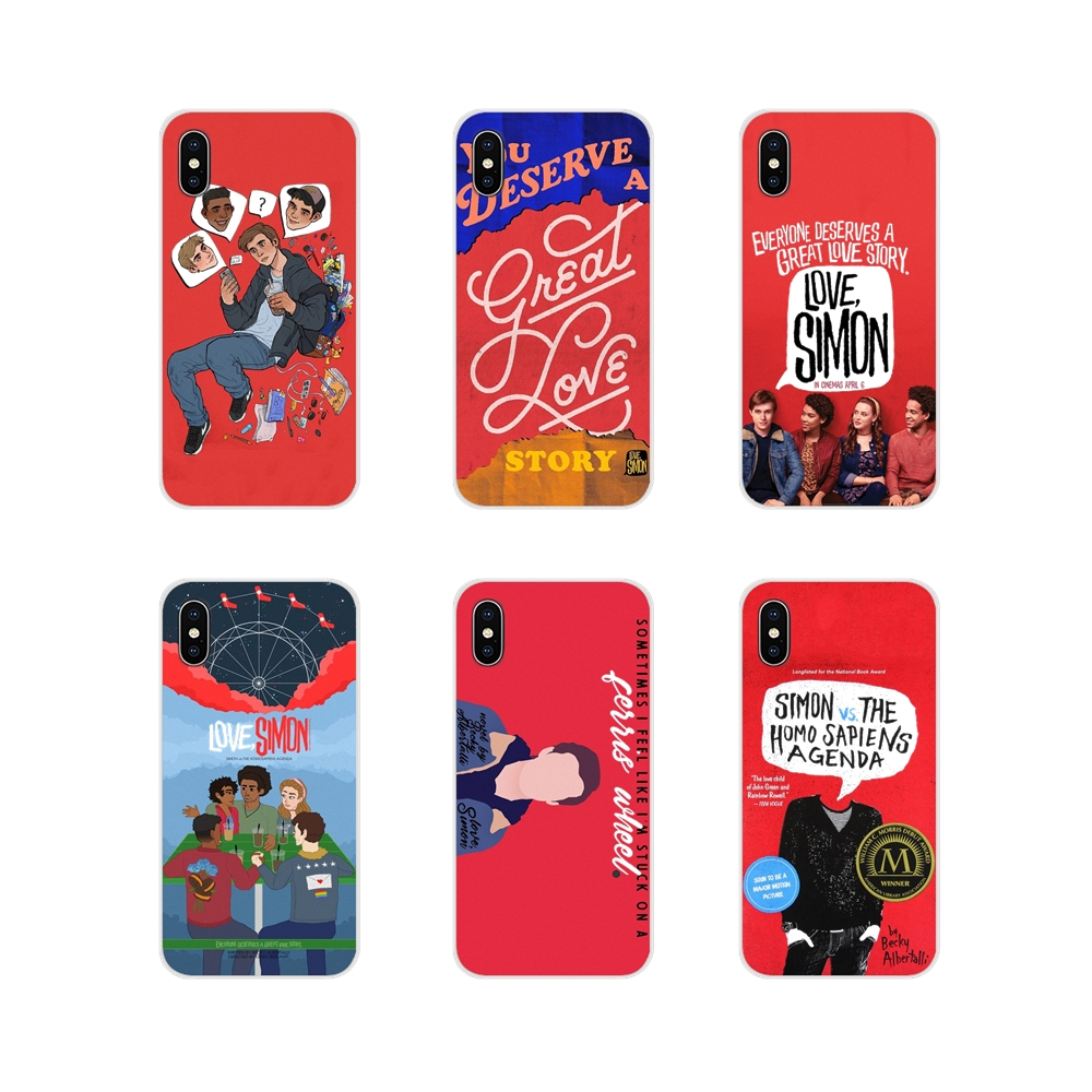 For Samsung Galaxy A3 A5 A7 A9 A8 Star A6 Plus 2018 2015 2016 2017 gay movies The love simon Accessories Phone Shell Covers image