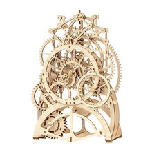 Diy Laser Cutting 3D Mechanical Model Wooden Puzzle Game Assembly Toy Creative Gift For Children Adult