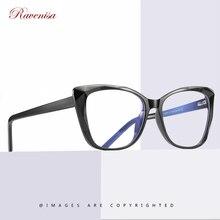2020 Trendy TR90 Optical Glasses For Women Vintage Cat-eye Anti Blue-Light Ladies Frame Glasses Computer Eyeglasses UV400 Oculos