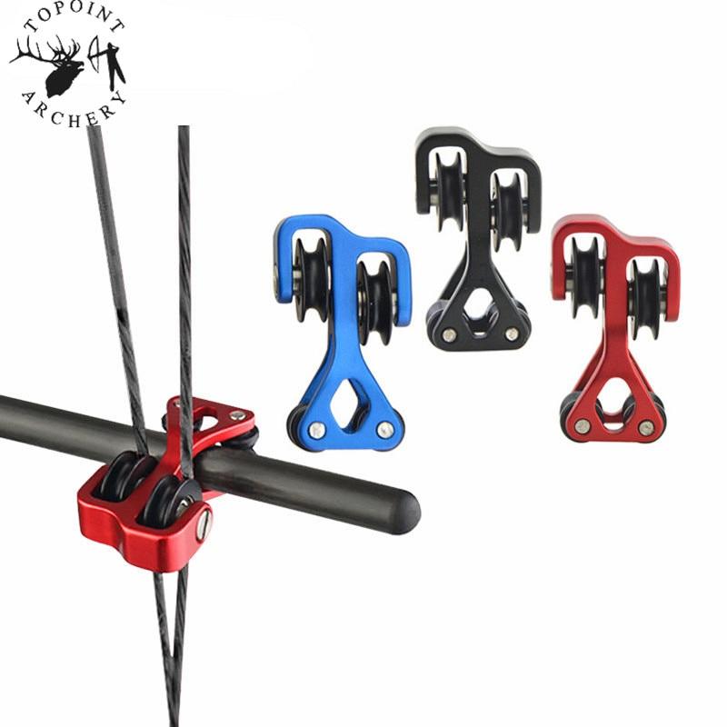 Archery Compound Bow Cable Slide Aluminum String Splitter Roller Glide Separator