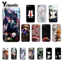 Yinuoda Anime HUNTER HUNTER TPU preto Tampa Da Caixa de Telefone para o iphone 6 6S plus 7 7plus 8 8 mais X Xs MAX 5 5S XR(China)