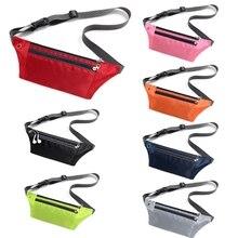 Sport Bum Bag Belt Purse Waist Pack Waterproof Travel Hidden Phone Pouch Running Jogging Fanny Pack Portable Gym Chest Bags