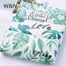 Kawaii Turtle Leaf Pencil font b Case b font School Pencil font b Case b font