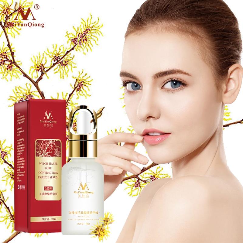 MeiYanQing Hamamelis Pore Shrinking Essence Effectively Clean Pore Exfoliator Whitens Skin Replenishes Skin Moisture Shrink Pore