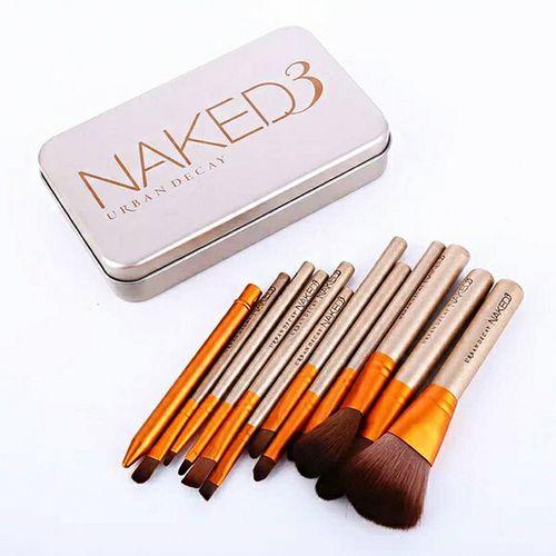 NAKED12 Makeup Brush Set Loose Powder Highlighter Eye Shadow Eyeliner Brush Beginner Makeup Brushes Tools