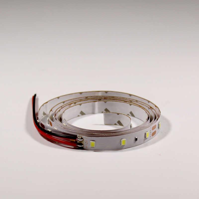 2835 LED קלטת עמיד למים 0.5M 1M 2M 3M 5M אור רצועת RGB אדום הכחול ירוק חם לבן ניאון אור מיעון