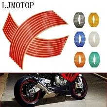 Motorcycle Stickers Bike Rim-Stripe Reflective MT07 MT09 Kawasaki Z750 YAMAHA Z800 Honda