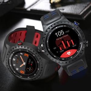 """Image 5 - SCOMAS GPS ساعة ذكية 1.3 """"جولة عرض دعم بلوتوث مكالمة هاتفية GPS البوصلة مراقب معدل ضربات القلب في الهواء الطلق الرياضة Smartwatch"""