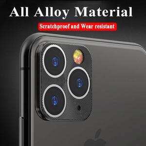 Image 3 - カメラレンズ保護リング Iphone 5 11 プロ強化ガラス 11Pro 最大 2019 電話金属合金電話バックプロテクター
