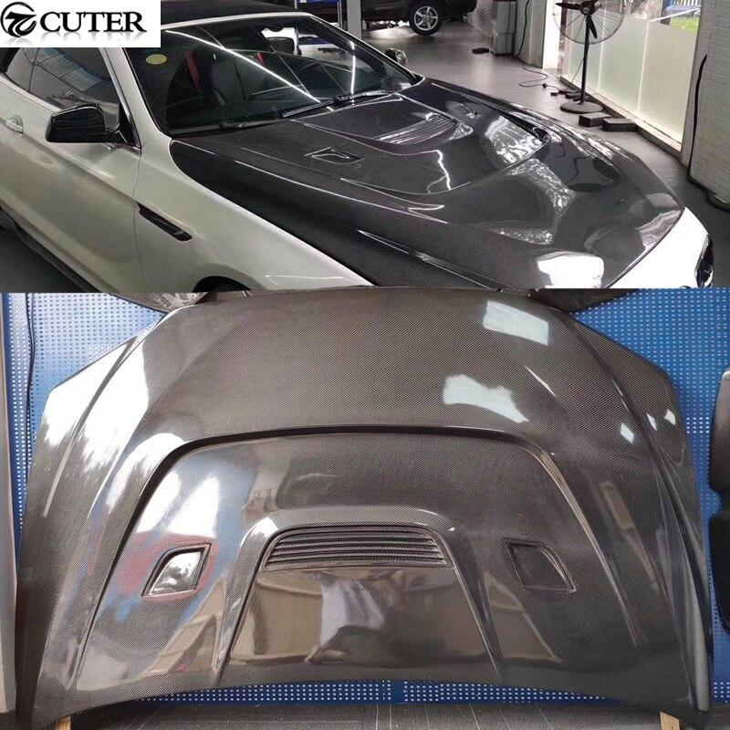 F06 F12 F13 M6 Carbon Fiber front Engine hood bonnet For BMW F06 F12 F13 6 series M6 car styling