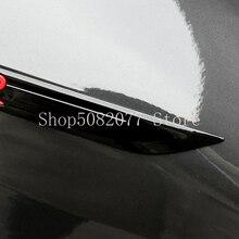 2021 New R 배지 블레이드 엠블렘 VW 골프 7 8 GTI Magotan B8 Passat 자동차 펜더 로고 스티커 폭스 바겐 광택 블랙 레드