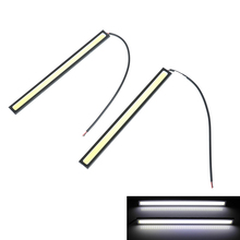 2pcs 17 CM COB LED Car Lamp External Lights Auto Waterproof Styling Daytime Driving Fog Lights Vehicle Daytime Running Light