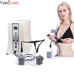 Eletric Vacuum Therapy Massager With Cups For Breast Augmentation & Buttcock Enlargement &Scraping Slimming, Chest Massager