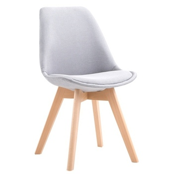 H1 Cloth Comedores Modernos Muebles Home Dining Chair Back Office Chair Creative Solid Wood Nordic Chair Design Chair Cheap