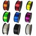3D Printer Filament 1.75mm 500g/250g TPU Flexible Filament 3D Plastic Printing Filament Printing Materials Gray Black Red Color