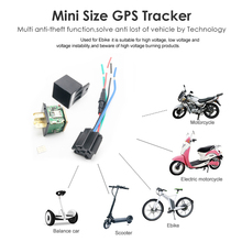 GPS Locator Car-Relay Fuel-Tracker CJ720 Power-System Real-Time Auto Anti-Theft Cut-Off-Oil