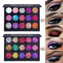 15 Color Glitter Eye Shadow Pallete Pigment Professional Eye