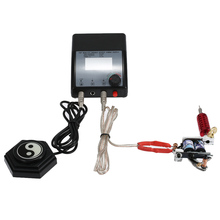 Newest Machines Digital Tattoo Power Supply Lcd Display Tools Double Output for