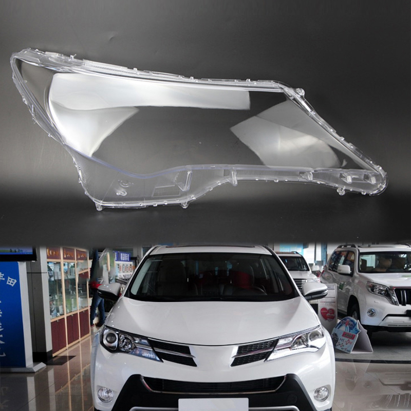 for Toyota RAV4 20013-2015 lens shell lampshade Headlight headlight cover Lens lamp transparent housing Front headlight housing