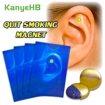 8pcs/4pairs Stop Smoking Magnet Quit Smoking Auricular Acupressure Magnet Natural Ingredient No Side Effect Health Therapy A381 1