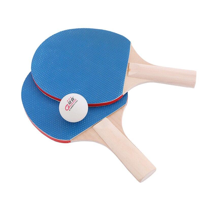 רשת טניס שולחן מתכווננת וזוג מחבטים JIMITU 1