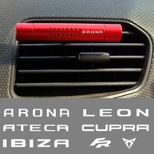 Автомобильный освежитель воздуха на выходе зажим для ароматерапии палочки для сиденья CUPRA Leon MK3 MK2 Ibiza 6J 6L FR Ateca Арона автомобильные аксессуар...