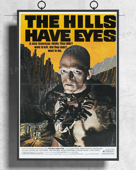 NJ665 THE HILLS HAVE EYES Movie Horror Wes Craven Wall Sticker Silk Poster Art Home Decoration image