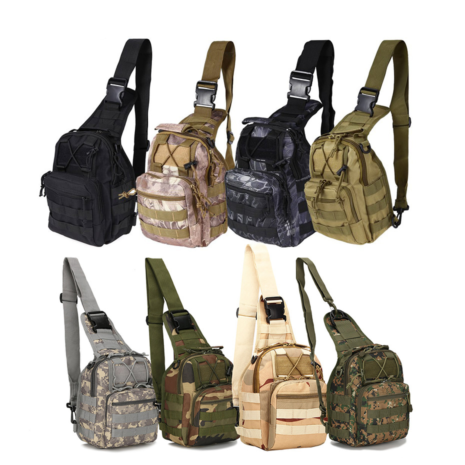 CNDRAGON 10 Farbe 600D Military Tactical Rucksack Schulter Camping Wandern Camouflage Tasche Jagd Rucksack Utility