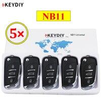 Controle remoto multifuncional nb11 nb  5 pçs/lote keydiy 3 botões universal para kd900 ur200 KD-X2 todas as funções em um