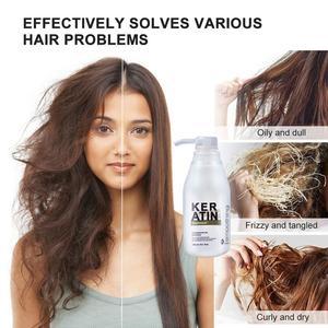 Image 3 - Восстановление волос с чистым кератином, формалин 5%, профессиональный выпрямитель для вьющихся волос, наращивание волос, блестящий цвет