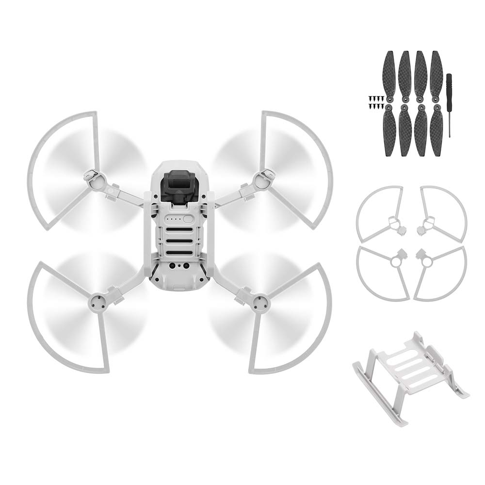 4PCS Propeller Protector Guard For DJI Mavic Mini Drone Accessory Blade Fens Props Wing Screw Quick Release Cover Protective Kit