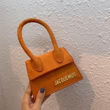 Jacquemus – petit sac à main en cuir PU pour femmes, petit sac à épaule de bonne qualité, fourre-tout, nouvelle collection 2020