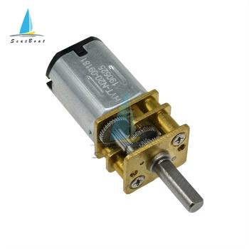 GA12-N20 DC 12V 6V 3V wiele typów Micro przekładnia DC silnik redukcyjny niska prędkość silnika N20 silnika zwalniania 15 30 60 100 2000 obr/min